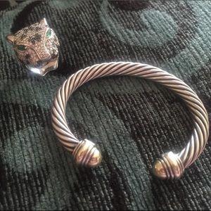 David Yurman authentic classic cable bracelet